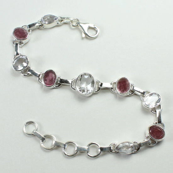 Tourmaline Pink Crush Bracelet