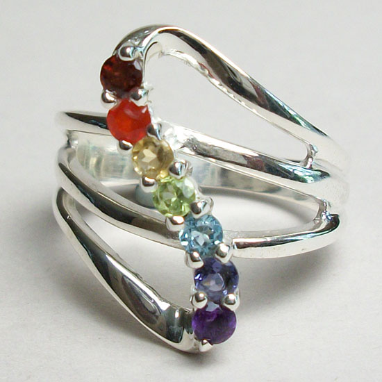 "Chakra ""Go With The Flow"" Ring"