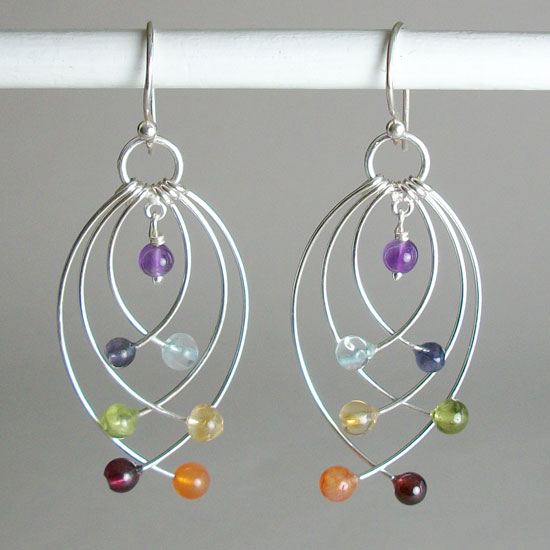 Chakra Balancing Earrings