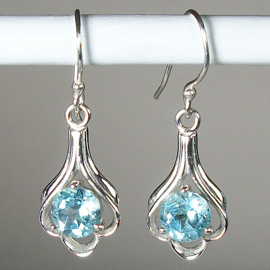 Topaz Lovely Sky Earrings