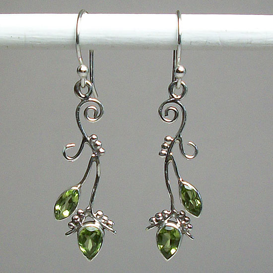 Peridot Fancy Earrings