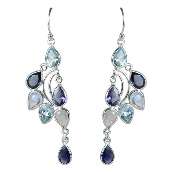 Blue Topaz and Iolite Indulgence