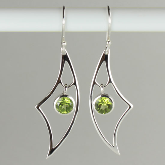 Peridot Urban Earrings