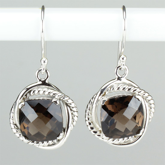 Smokey Quartz Classic Collection Earrings
