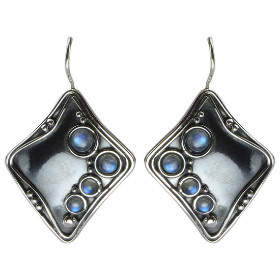 Labradorite Tribal Earrings