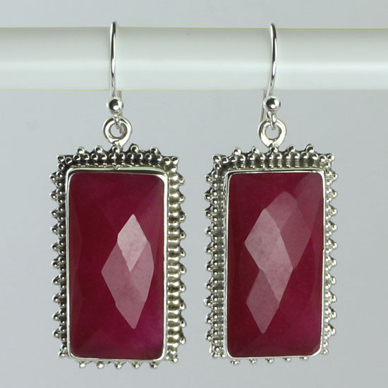 Ruby Regal Earrings