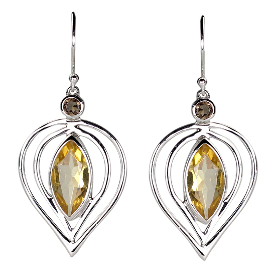 Citrine Femme Fatale Earrings