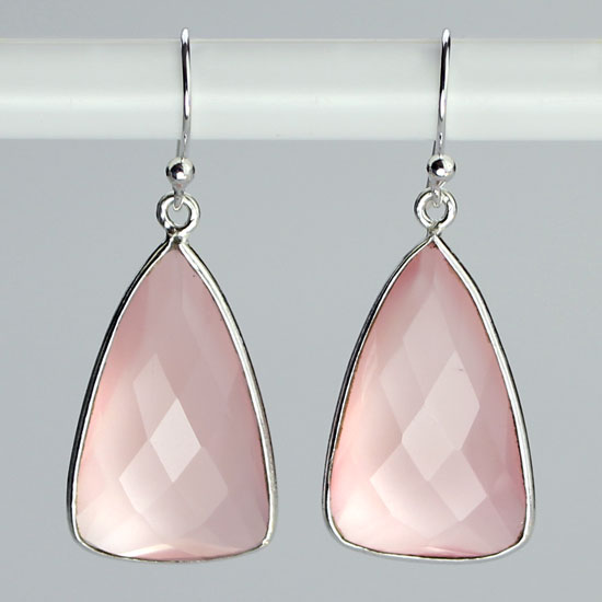 Chalcedony Pink Charisma Earrings