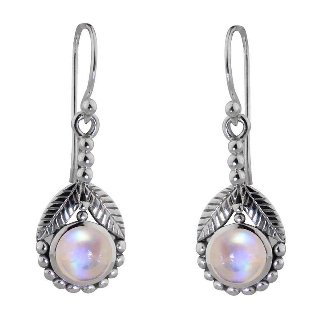 Moonstone Daisy Dazzle Earrings