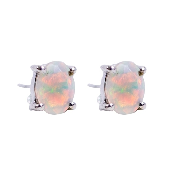 Opal Ethiopian Stud Earrings