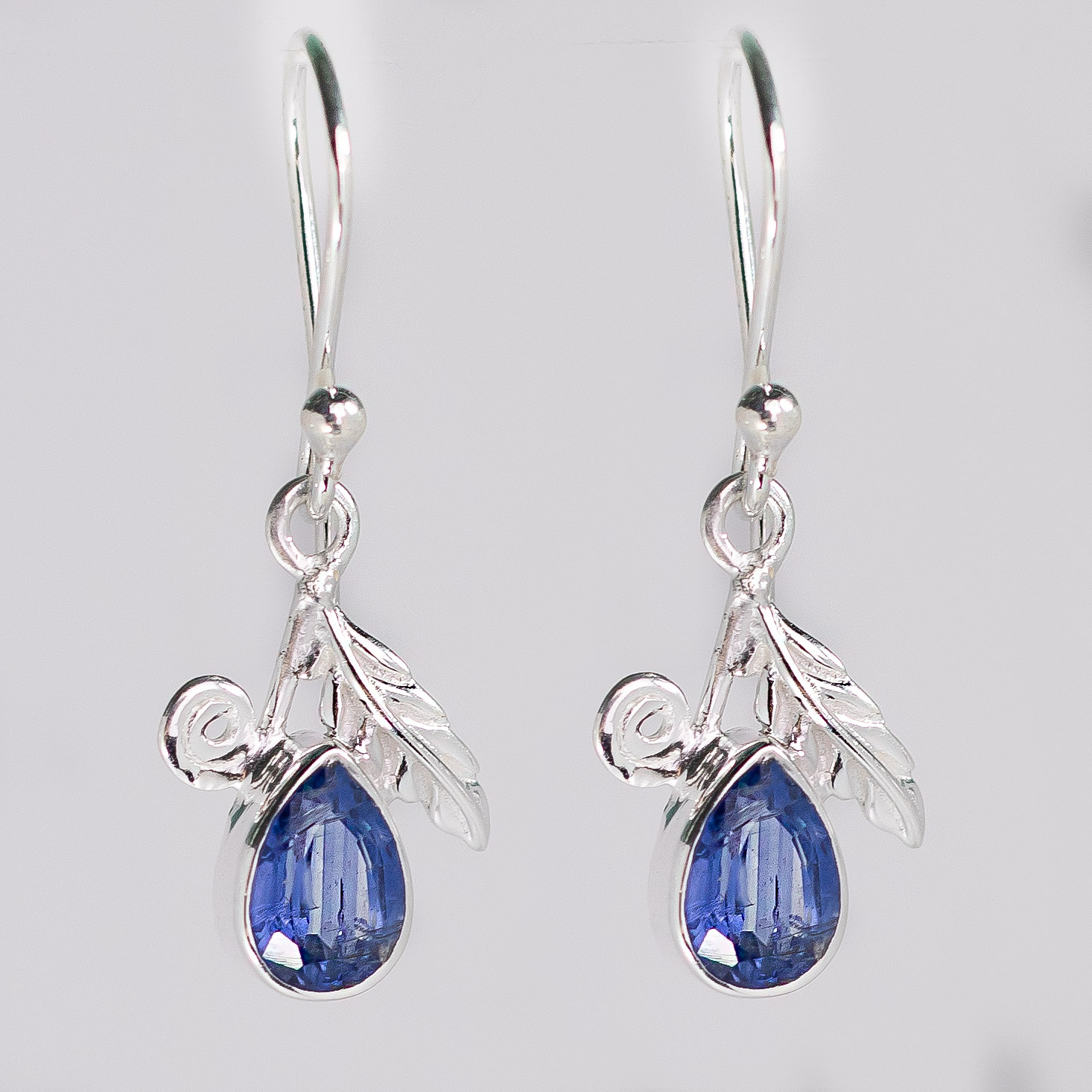 Kyanite Sparkling Precious Earrings