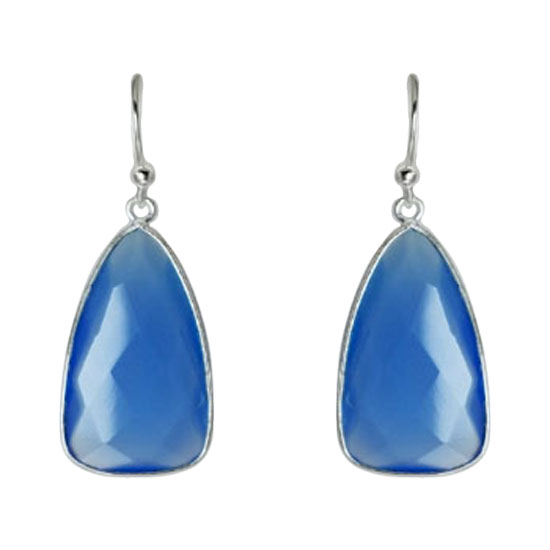Chalcedony Blue Charisma Earrings