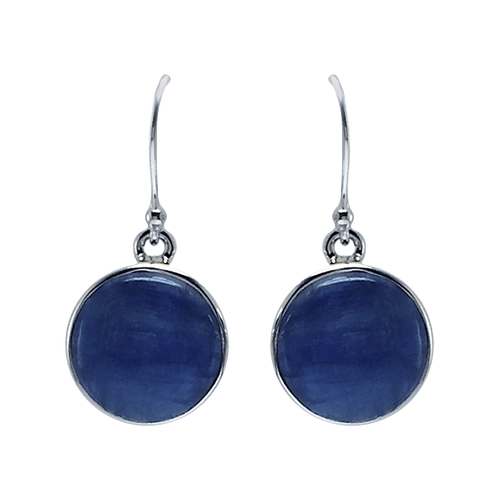 Kyanite Shimmer Earrings