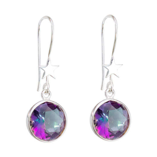 Celestial Mystic Topaz Earrings