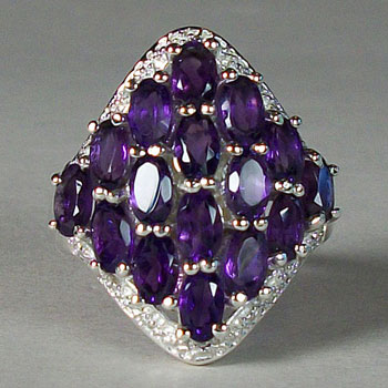 Amethyst Royal Ring
