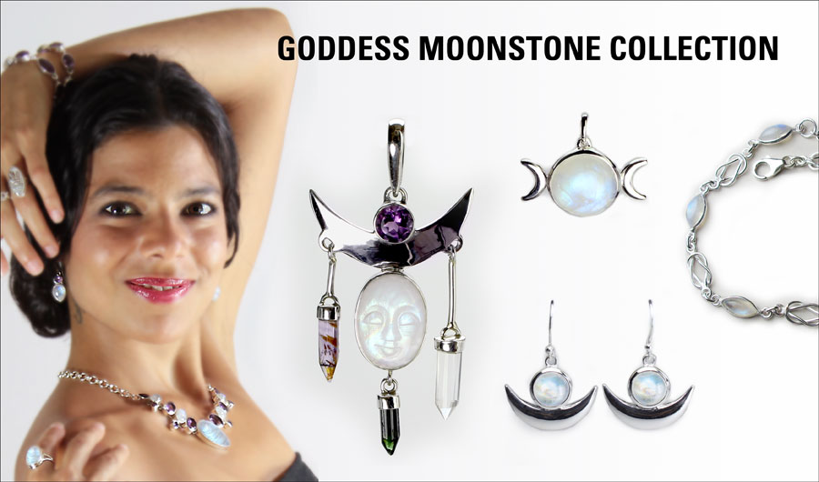 Goddess Moonstone Collection