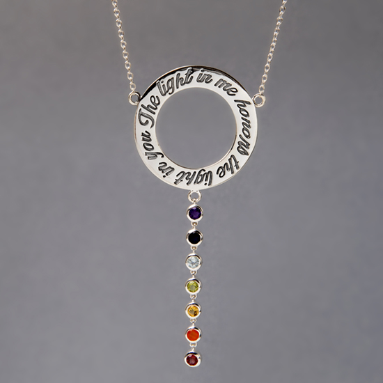 Chakra Light In Me Necklace