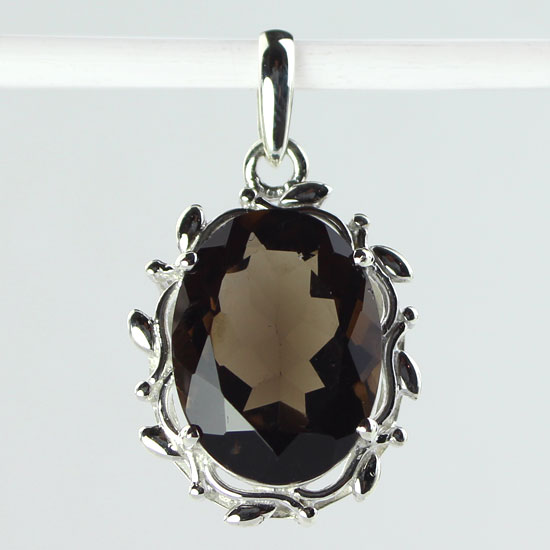 Smokey Quartz Nature Pendant
