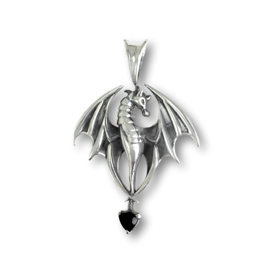 Dragon Silver Magic Penant