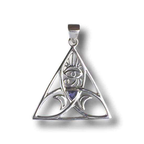 Iolite Sacred Power Symbol
