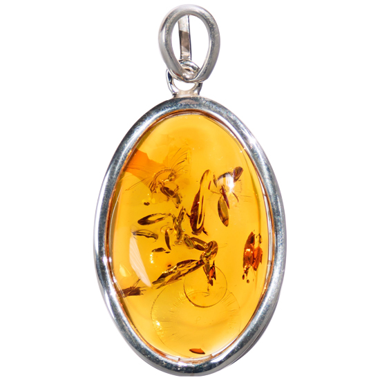 Baltic Amber Honey Pendant