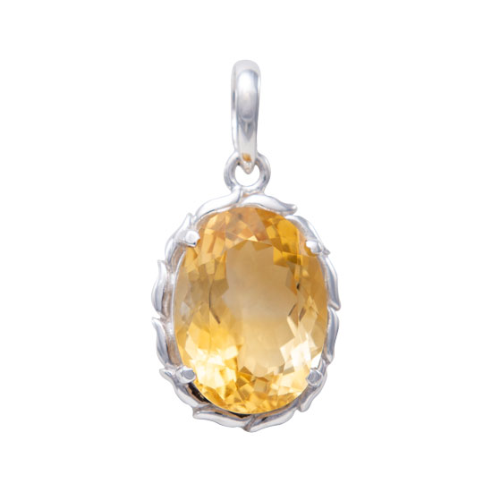 Citrine Love Notes Pendant