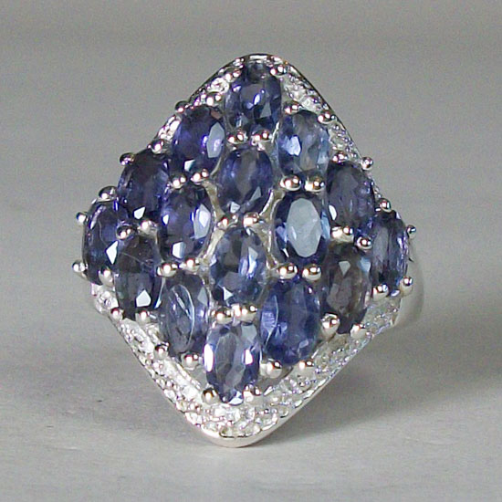 Iolite Royal Ring