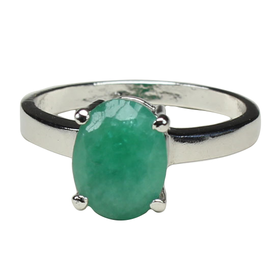 Emerald Natural Ring
