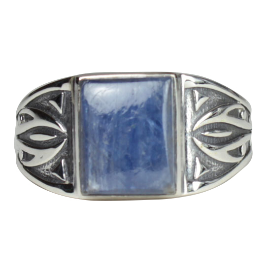 Kyanite Tribal Unisex Ring