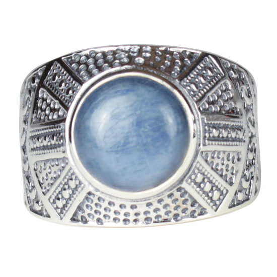 Kyanite Egyptian Unisex Ring