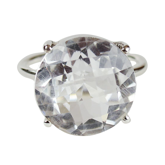 Crystal Quartz Pizzazz Ring