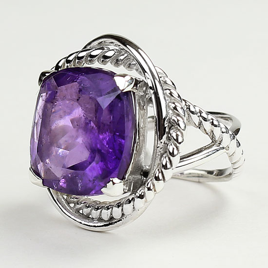 Amethyst Classic Collection Ring