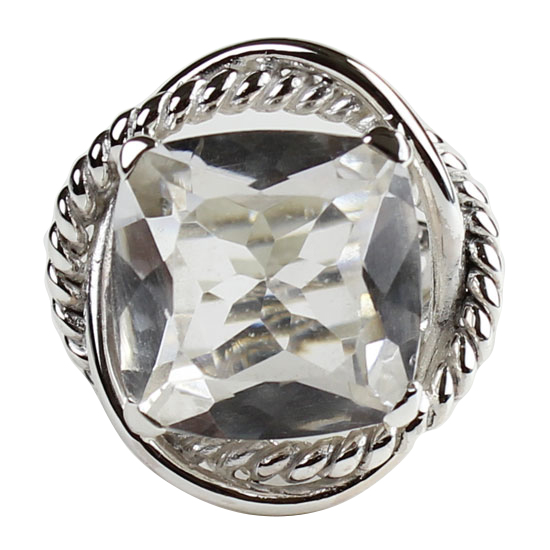 Crystal Quartz Classic Collection Ring