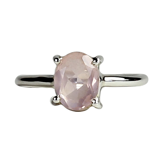 Rose Quartz Sweet Love Ring