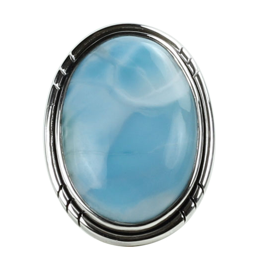 Larimar Sea Breeze Ring