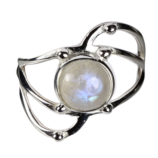 Moonstone Spirit Warrior Ring