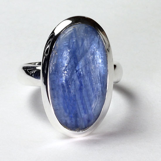 Kyanite Royal Blue Ring