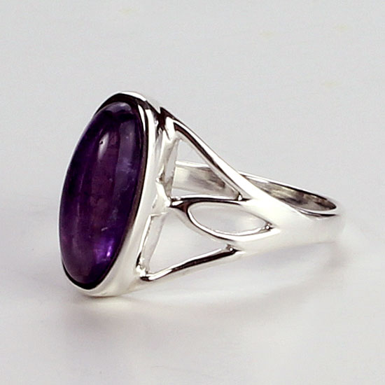 Amethyst Candy Ring