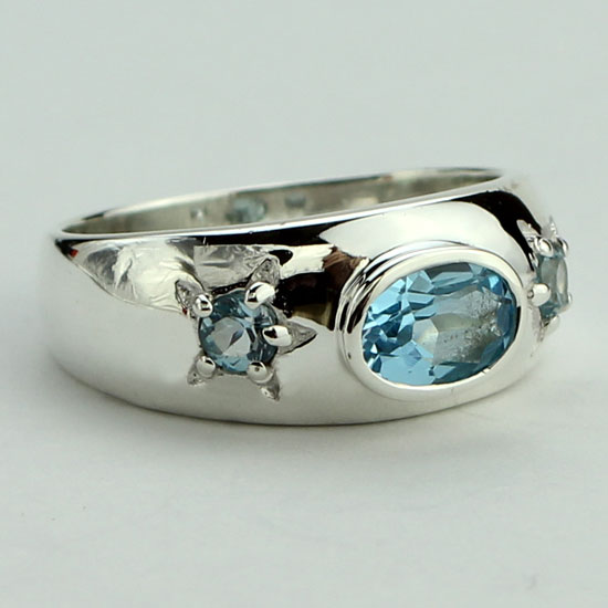 Blue Topaz Starlight