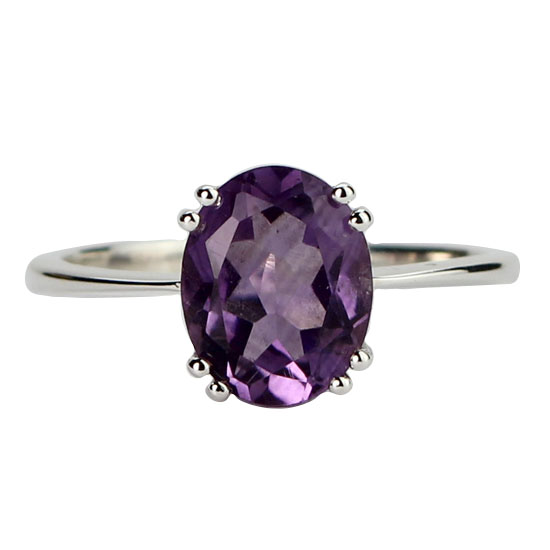 Amethyst Awesome Ring