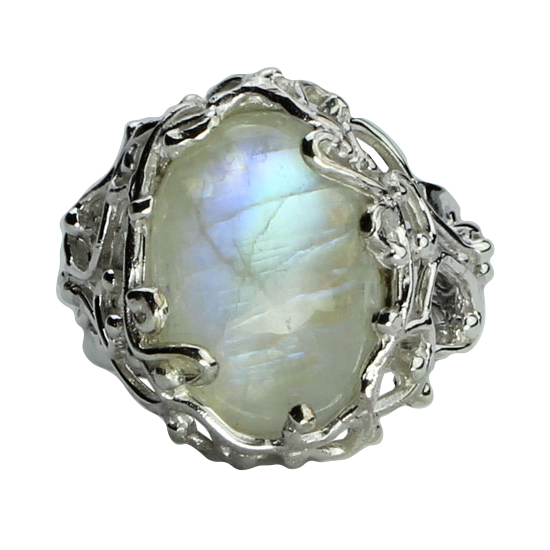 Moonstone Branching Out Ring