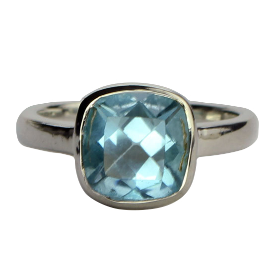 Blue Topaz Pizazz Ring