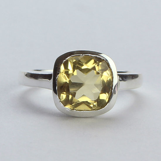 Citrine Cache Ring