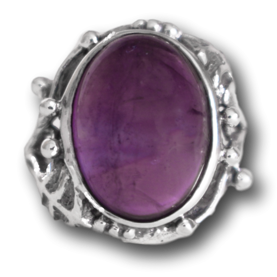 Amethyst Forest Ring