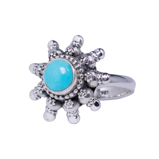 Turquoise Tribal Destiny Ring