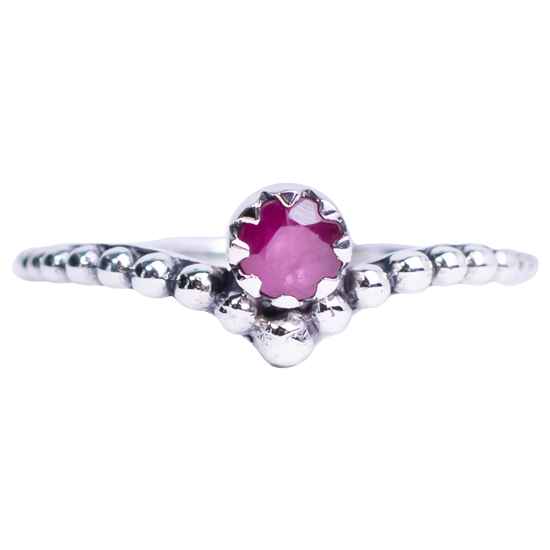 Ruby Tiara Ring
