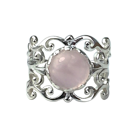 Rose Quartz Pure Joy Ring