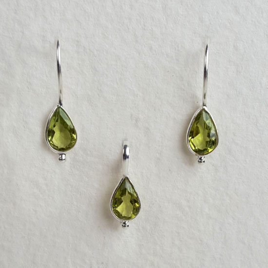 Peridot Birthstone Set August