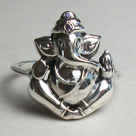 Ganesh Adjustable Ring
