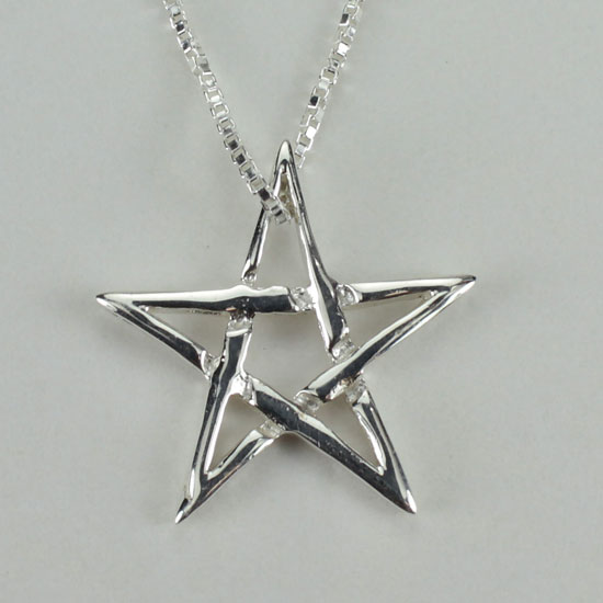 Star Pentacle Small Pendant